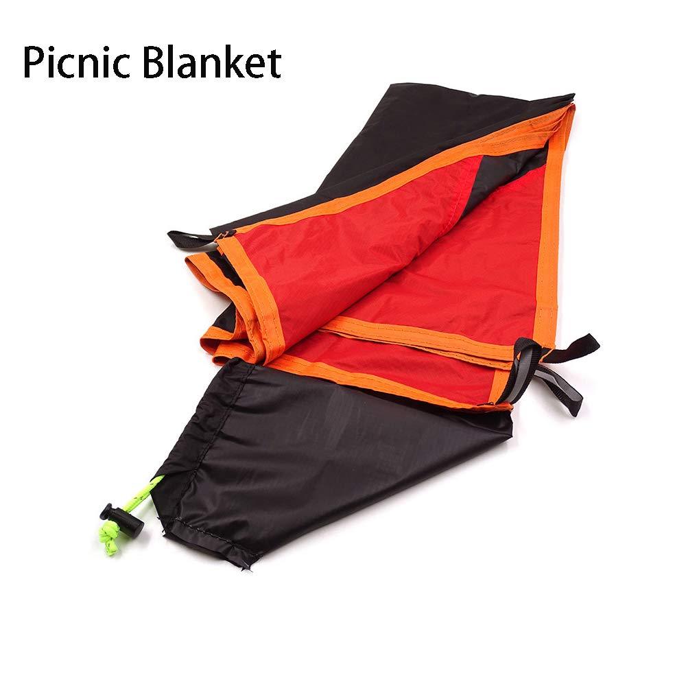 Top Lander 1-4 Person Ultralight Ground Sheet for Camping Hiking Travelling Portable Waterproof Leisure Picnic Blanket Mat Under Tent Footprint Tarp
