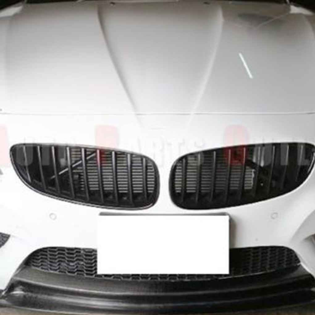 Ben-gi Matte Black Front Kidney Grilles Grill Covers for BMW Z4 E89 2009-2016