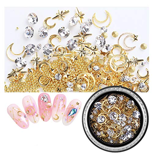 GreatDeal68 Japanese popular DIY nail art star moon for sale  Delivered anywhere in Canada