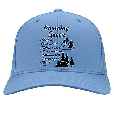 91e144469bb I m A Camping Queen Knit Cap