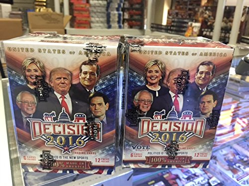 2016 Political Trading Cards (2) Blaster Boxes
