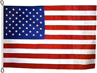 product image for Annin Flagmakers Model 2830 American Flag Tough-Tex The Strongest, Longest Lasting, 30x60 ft, 100% Made in USA with Sewn Stripes, Appliqued Stars and Roped Heading