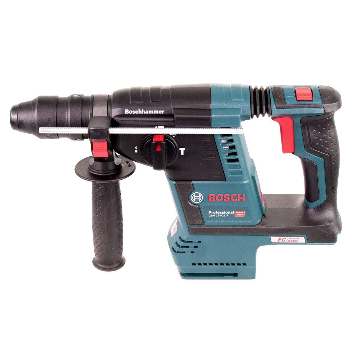 Azul Bosch Professional 0611909000 Bosch Profesional Taladro Martillo perforador GBH 18/V-26/Tijera / 18 V /Caja sin bater/ía y Cargador
