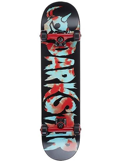 Darkstar Ultimate Premium Skateboard Unisex, Rojo