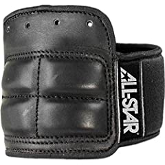 Ideal for catchers or position players seeking extra wrist protection. This wrist guard laces directly into the glove with either the mitt's original lace or with the extra lace included. Once securely attached to the glove, the wrist guard u...