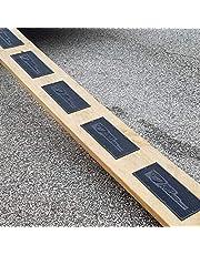 6 Ramp Mats Rubber 12 x 6 Traction Non-Slip w/ Screws Hardware Trailer Cargo