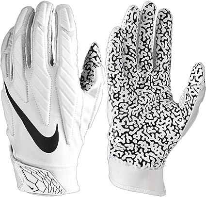 Sentimiento de culpa Se convierte en Hombre rico  Amazon.com : Men's Superbad 5.0 Receiver Gloves (XX-Large, White/Black) :  Sports & Outdoors