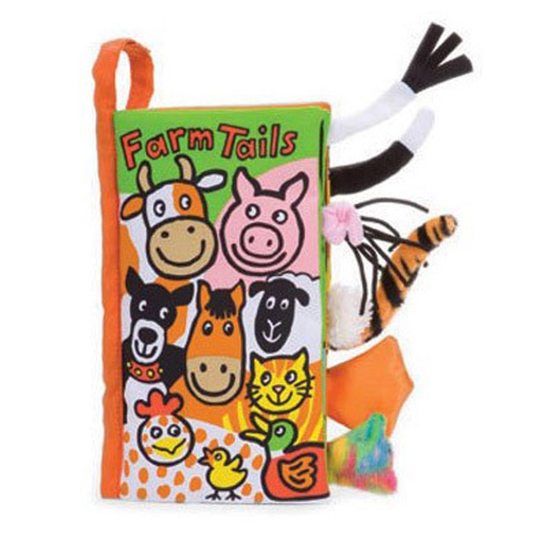 Malloom® colas animales libro de tela bebé de juguete Desarrollo Libros Aprendizaje y Educación libros (kitty tails)