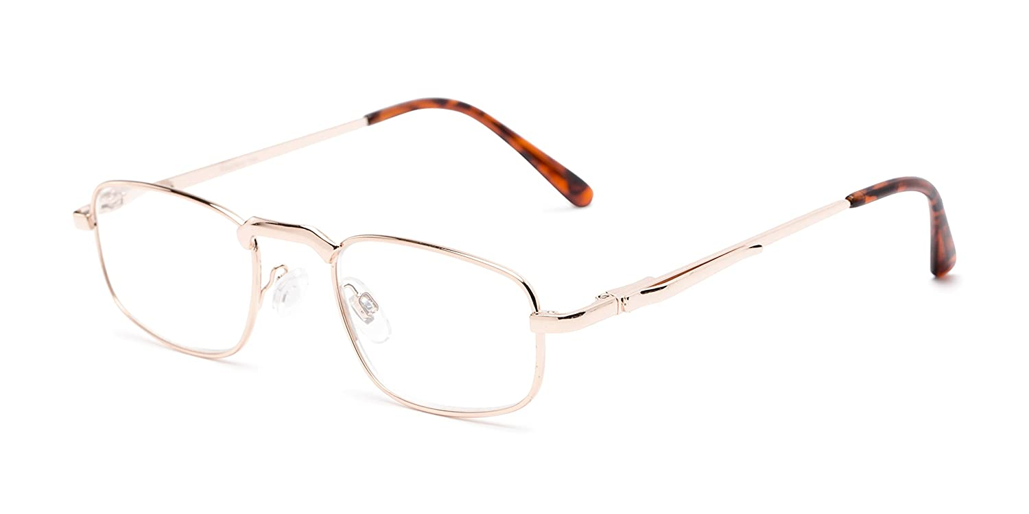 97cc63e70db Amazon.com  The Anderson +3.25 Gold Reading Glasses  Health   Personal Care