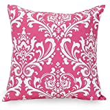 Majestic Home Goods Hot Pink French Quarter Indoor Large Pillow 20'' L x 8'' W x 20'' H