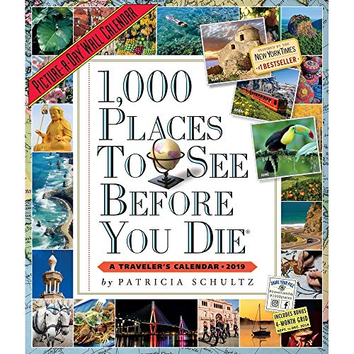 Places 1000 (1000 Places to See 2019 Picture-A-Day Wall Calendar)