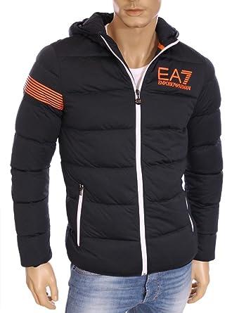 Armani Ea7 Doudoune Marine Orange - Homme (XL)  Amazon.fr  Vêtements ... eeb393e0d2de