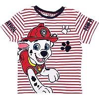 Nickelodeon Pat Patrol - Camiseta de manga corta para niño, color rojo