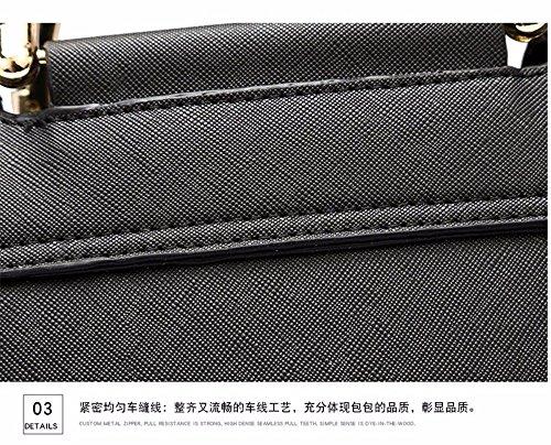en Black Tassel Main a Body Femme Nice Sacs pour Cuir Sacs Contemporain Cross B Grey à de qB1qFSxwn