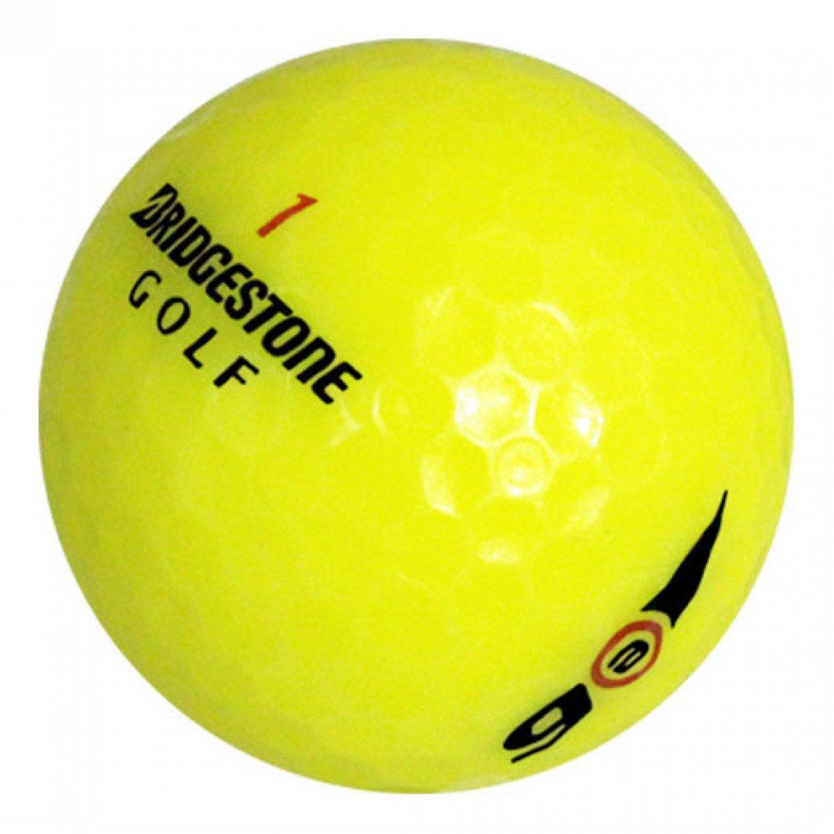 ブリヂストン e6 イエロー - プレミアム ゴルフボール 48個 B016YXWECI