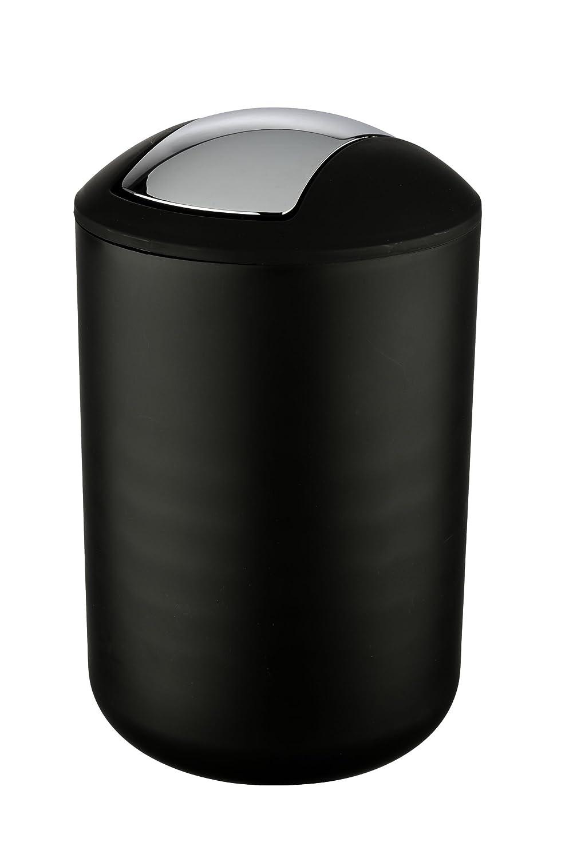 Wenko Brasil Cubo con Tapa 6.5 L Blanco 19.5x19.5x31 cm Elast/ómero Termopl/ástico TPE