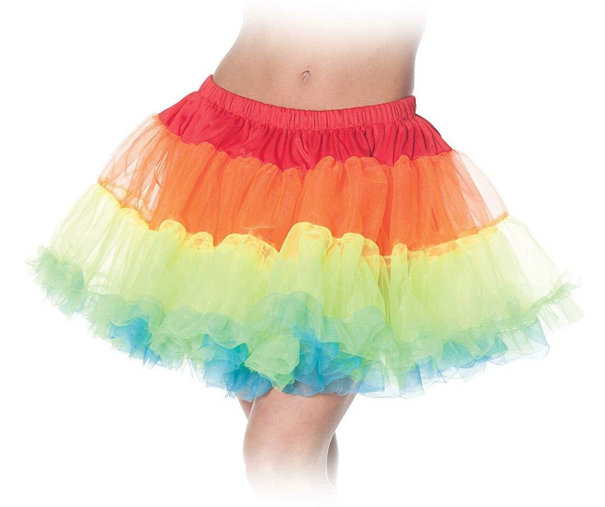 WMU Damens's Tutu Skirt, Rainbow by WMU