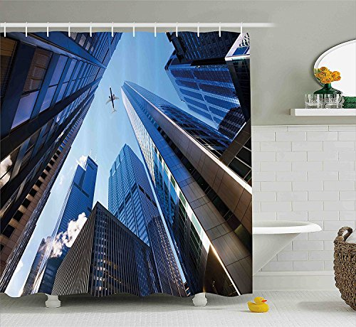 urban-shower-curtain-looking-up-at-chicagos-skyscrapers-in-financial-district-american-city-picture-