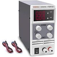 Laboratoratorienätdel, Eventek 0-30V 0-10A DC justerbar nätdel stabiliserar digital display laboratorienätaggregat…