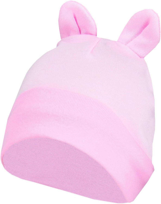 Pack of 2 TupTam Baby Newborn Beanie Hat with Ears