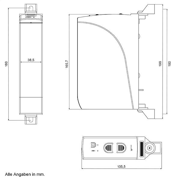 Schellenberg 22735 – 15 mm de Ancho, Fuerza de tracción 12 kg, con Temporizador automático, 29 W, 230 V, Rollodrive 35, Mini 2.5 NM: Amazon.es: Bricolaje y herramientas