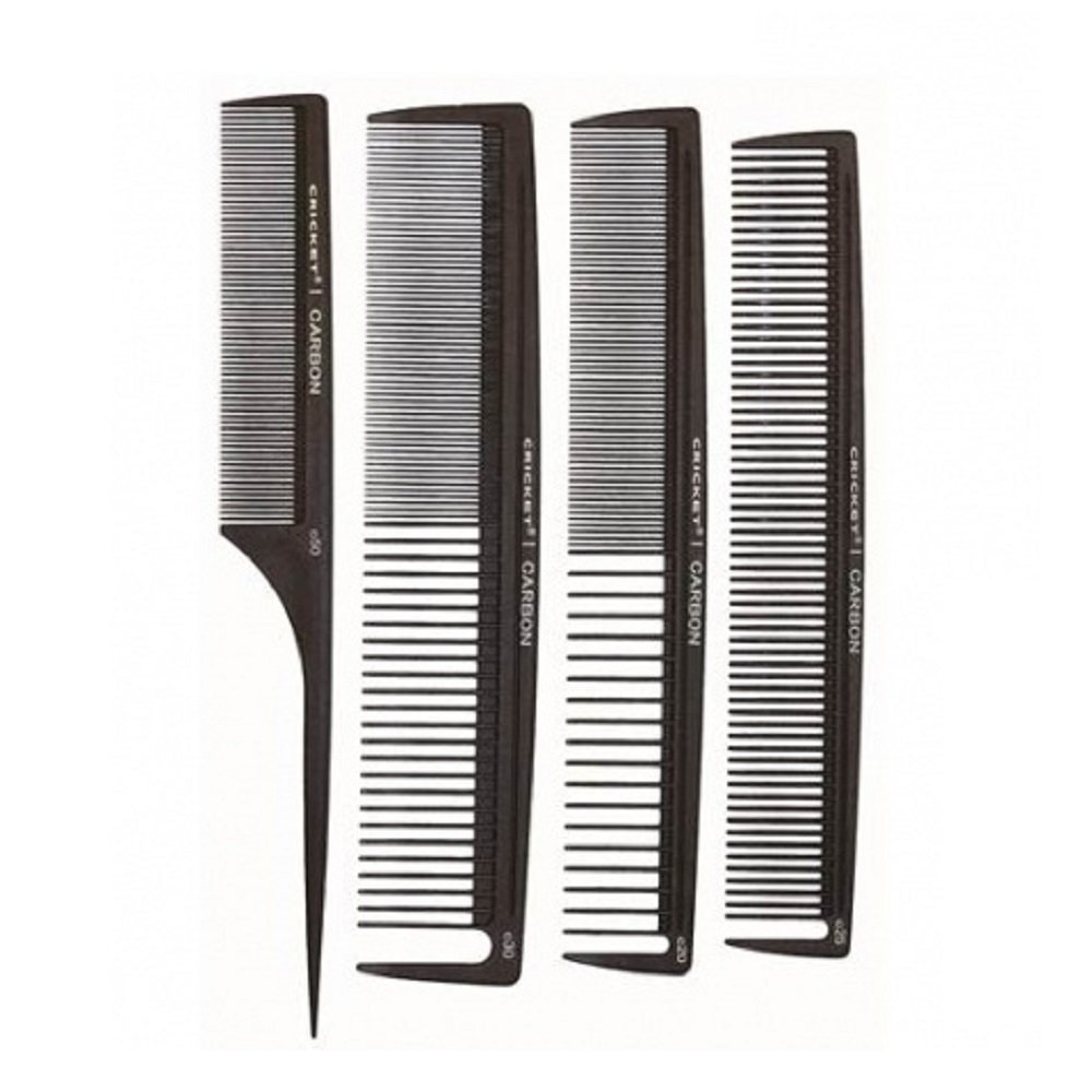 Cricket Carbon Combs Stylist, 4 Count