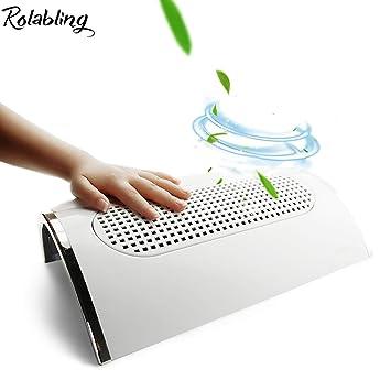 Amazon.com: rolabling uñas Polvo Colector de succión 3 ...