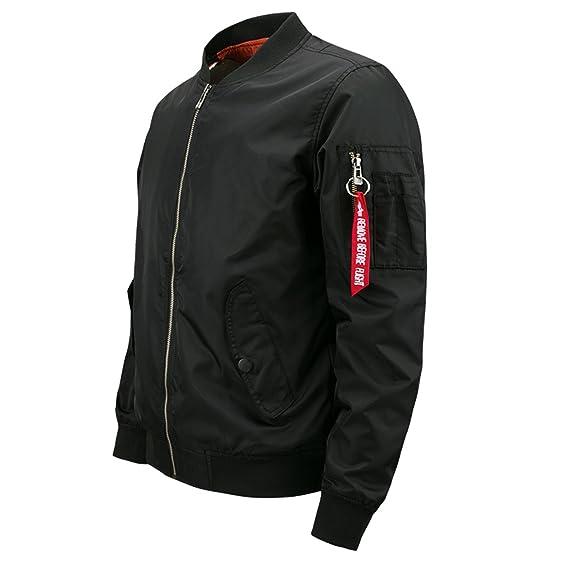 DSGgrergr Bomber Jacket Men Plus Size Jacket For Men Military Jacket Men Mens SpringJackets And Coats