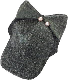 La Sra Primavera Y El Verano La Versión Coreana Oídos Gorra De Béisbol De Lentejuelas Perlas De La Moda Salvaje Tapas Hip Hop Protección Solar Sombrero