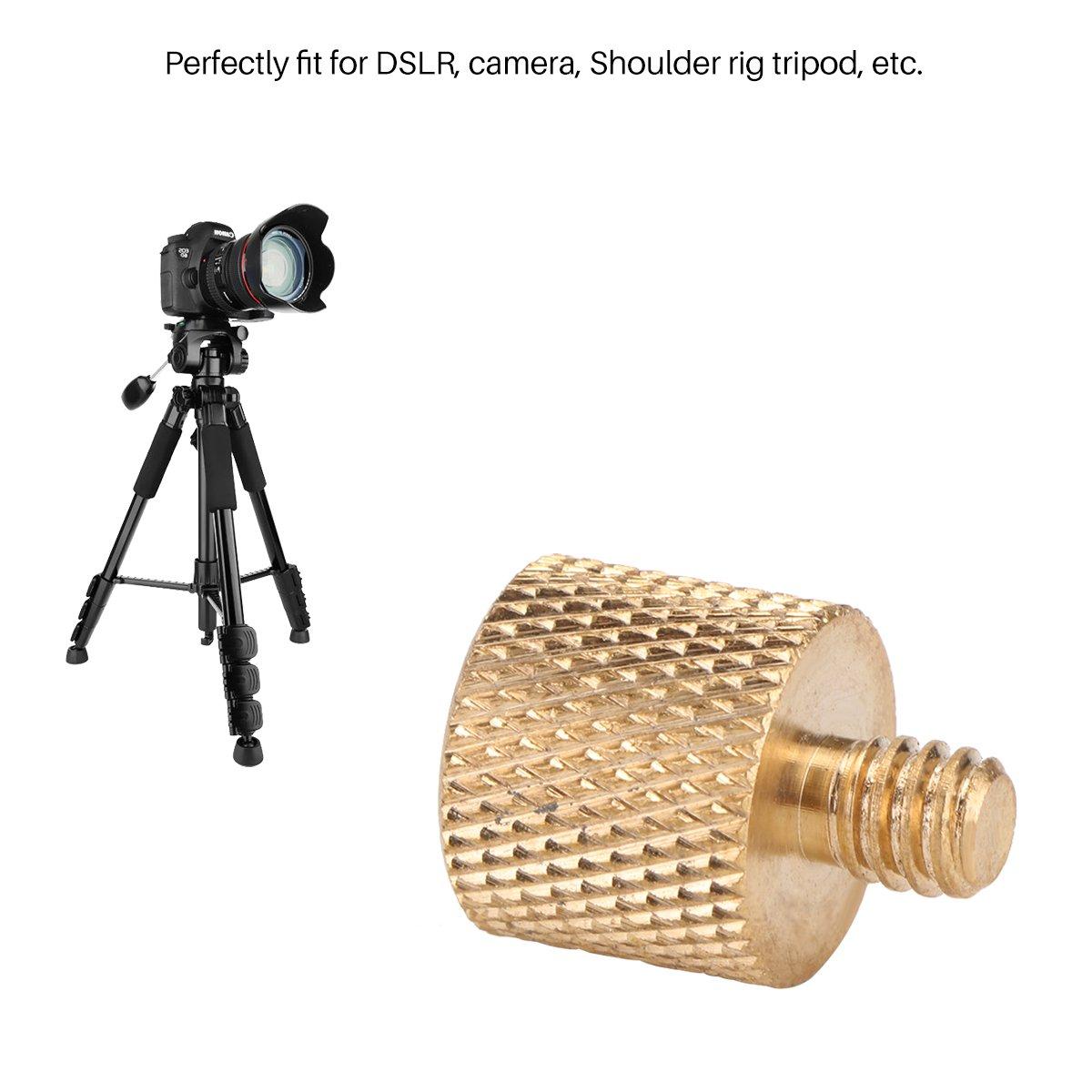 1PC ONEVER 3//8-16 femmina a 1//4-20 adattatore maschio filettato a vite per Rig DSLR spalla della macchina fotografica Tripod