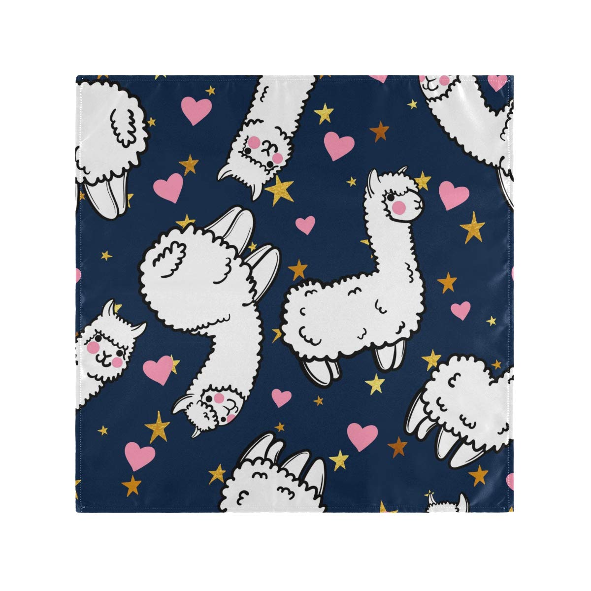 Reusable Cloth Napkins Llama Cloth Napkin