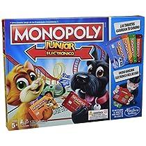 Monopoly - Junior Electronico (Hasbro E1842105)