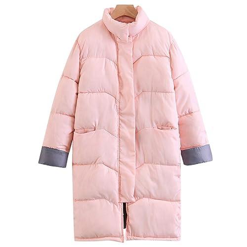 NiSeng Mujeres Invierno Cálida Acolchado Cazadoras Chaqueta Casual Más Grueso Chaqueta Abajo Parkas Coats Outerwear