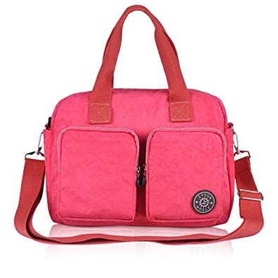 Tote Handbags, Nylon Crossbody Bag, ZYSUN Purses and Satchel ...