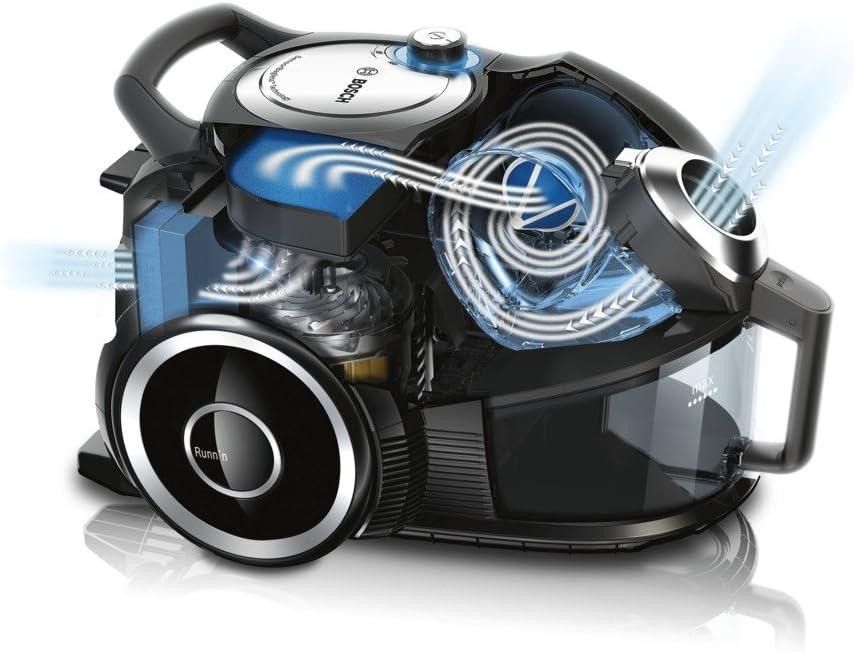 Bosch BGS42212 - Aspiradora sin bolsa, regulador electrónico de ...
