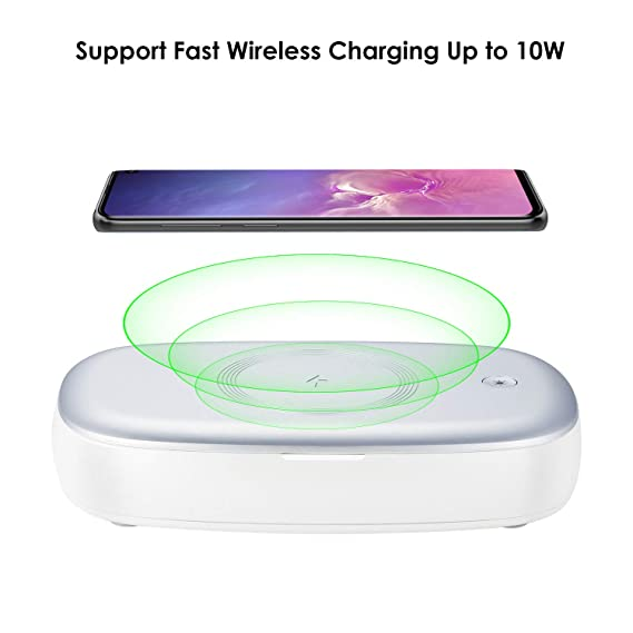Amazon.com: Lecone - Sanitizador de teléfono celular UV y ...