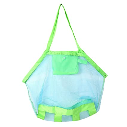 aa589f4f2d38 Amazon.com: UJuly Children Beach Mesh Toys Storage Bag Folding Net ...