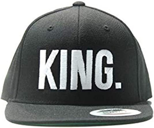 Magic Custom King & Queen Gorra con visera plana: Amazon.es: Ropa ...