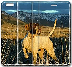 Animal Pointer Leather Cover for iphone 5c(Compatible with Verizon,AT&T,Sprint,T-mobile,Unlocked,Internatinal)