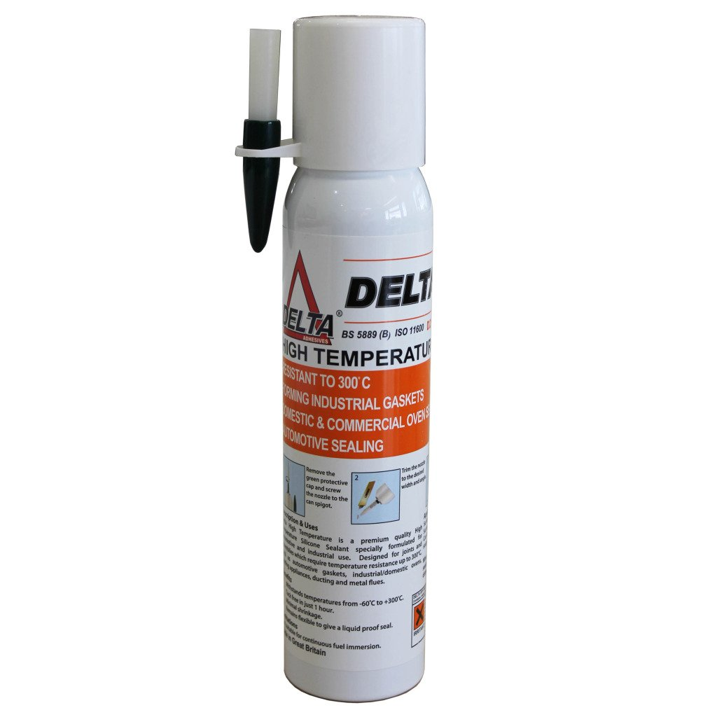All Trade Direct 1 X Quality High Temperature Industrial Oven Exhaust Rtv Gasket Sealant 200Ml