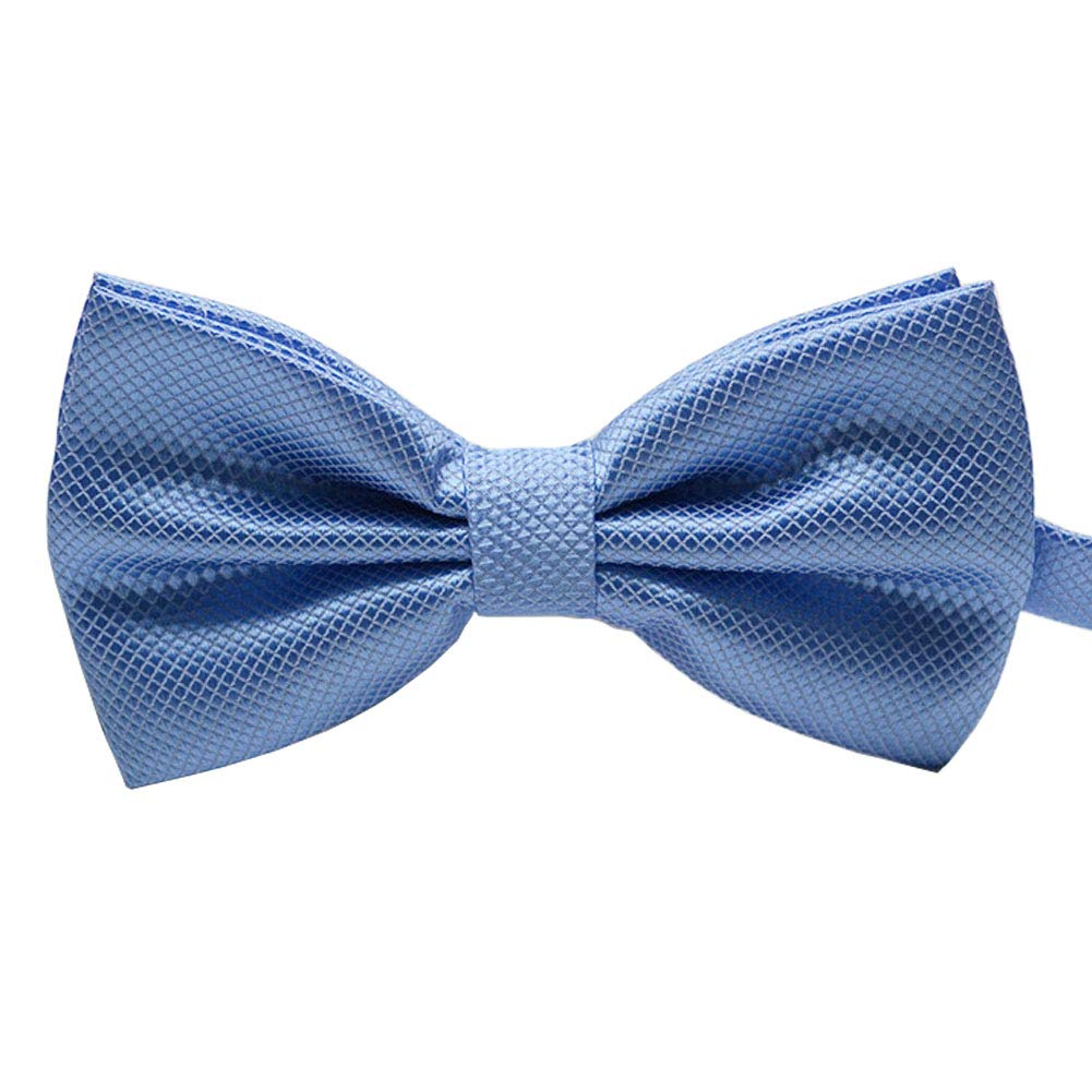 JMXC Classic Bow Tie for Wedding Party Fancy Plain Adjustable Bowties Necktie