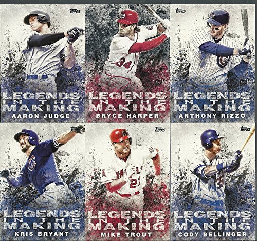 2018 Topps Series 1 MLB Legends In The Making Insert Set 30 Card Complete Set Retail Only Aaron Judge Mike Trout Kris Bryant Bryce Harper Cody Bellinger