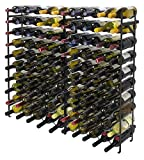 Sorbus Wine Display Rack Large Capacity Wobble-Free Wine Shelves, Wine Storage Stand for Bar, Basement, Wine Cellar, Kitchen, Dining Room, etc