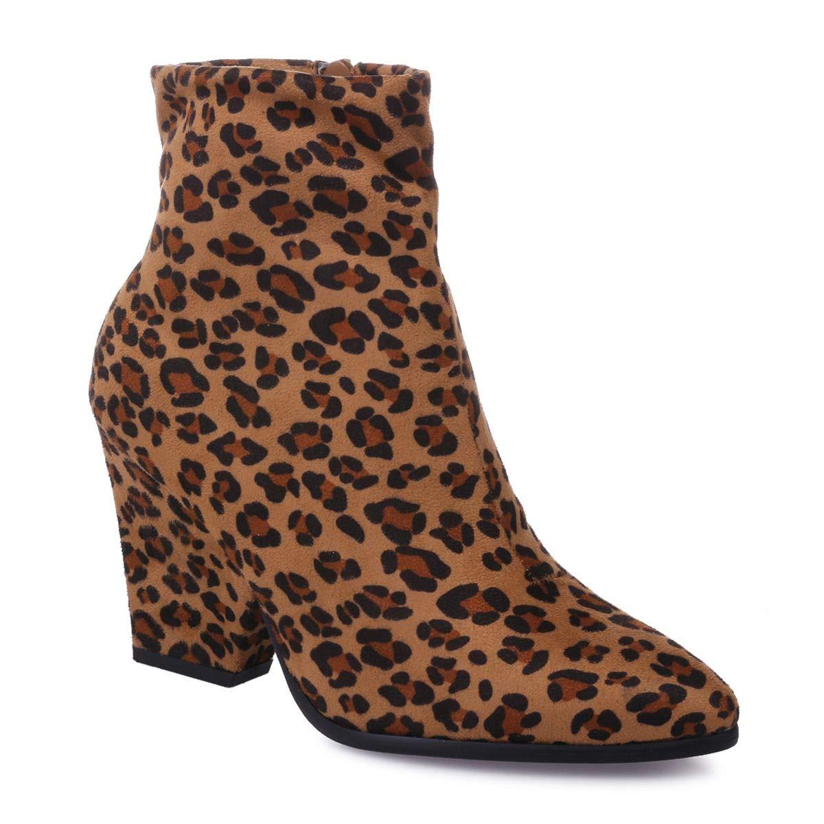 Sintético La Zapatos Botas Y Mujer Modeuse De Amazon es 52602 4qv7qI