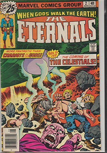 Eternals #2 (Comic - Aug. 1976) (Vol. 1)