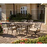 Cheap Hanover TRADITIONS7PCSW Traditions 7-Piece Deep-Cushioned Outdoor Dining Set