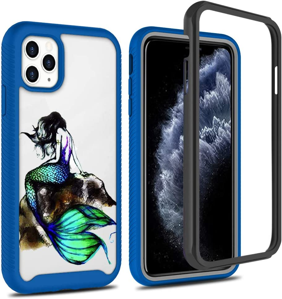 iPhone 11 Pro Max Case,Slim Stylish Designed Shockproof Protective Hybrid Scratch Resistant Hard Back Cover Air Armor Designed for for Apple iPhone 11 6.5 inch (2019) Blue