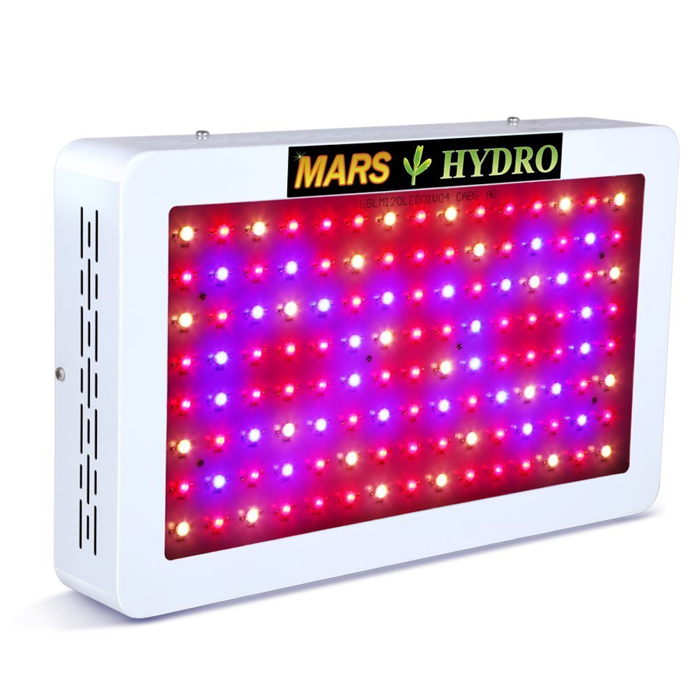 Marshydro Mars 600w Led Grow Light Full Spectrum For Greenhouse And Fuse Box Indoor Hydroponic Plant Flowering Growing Less Heat Bigger Yields