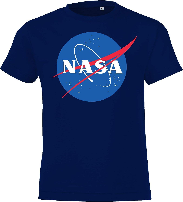 taglia 2-12 anni in diversi colori. modello NASA Maglietta da bambino TRVPPY
