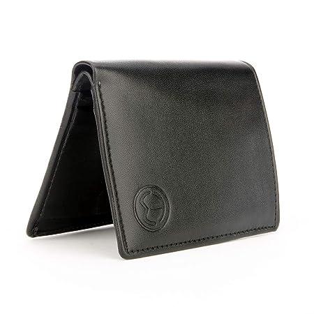TnW Men's Leather Wallet  Black
